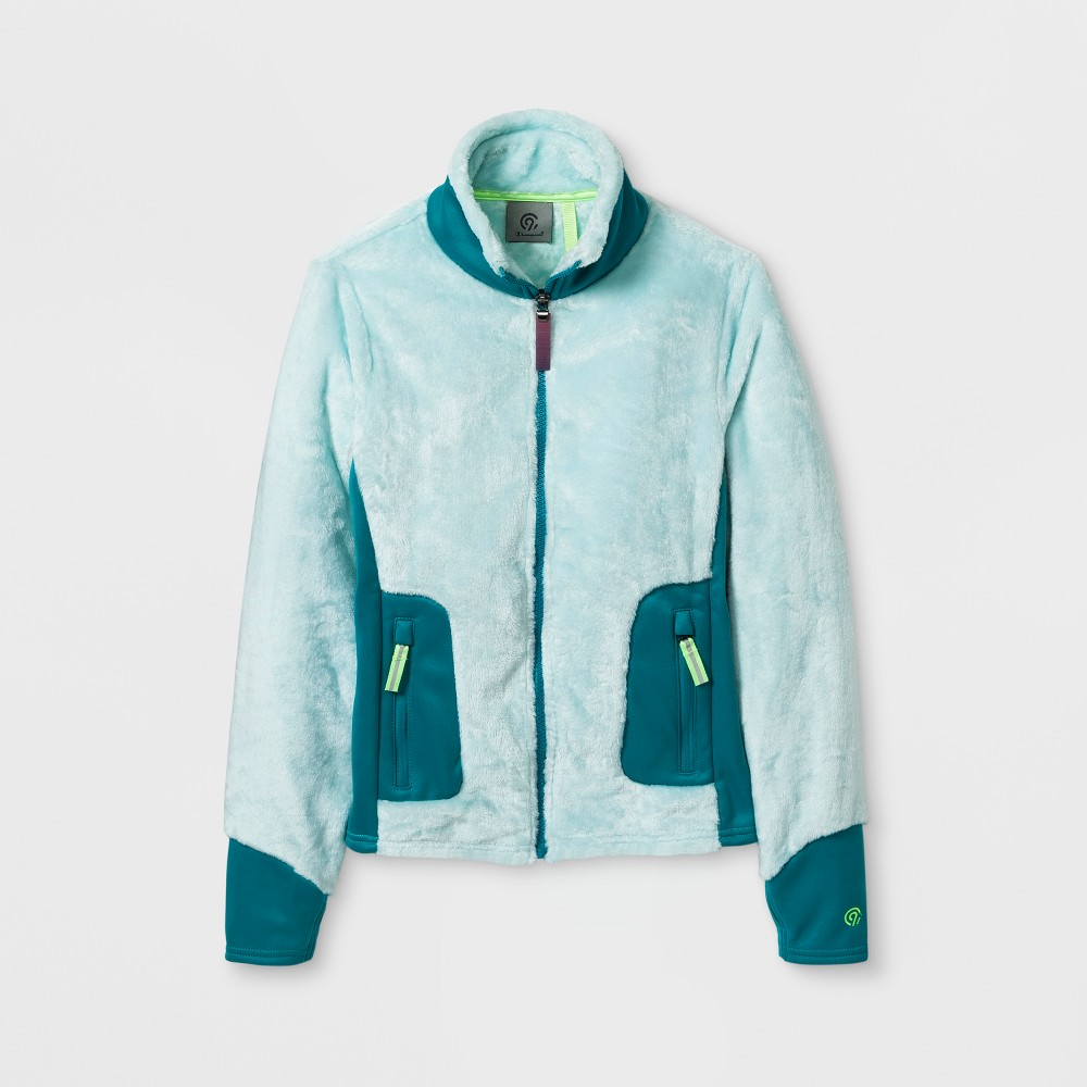 Girls Fleece Jacket - C9 Champion Blue L