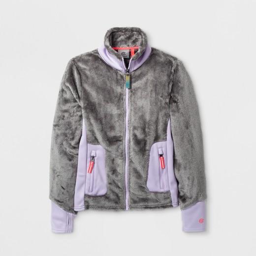 Girls' Fleece Jacket C9 Champion® - Gray : Target