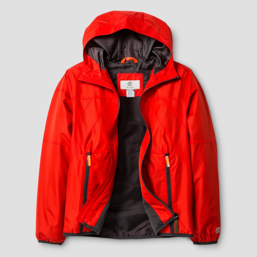 Boys All Weather Windbreaker Jacket - C9 Champion Scarlet (Red) XS