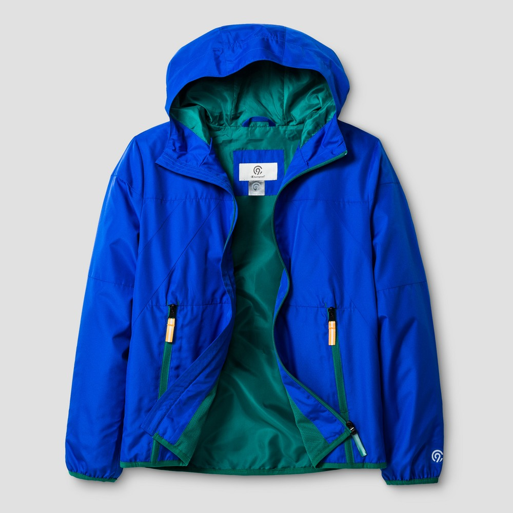 Boys All Weather Windbreaker Jacket - C9 Champion Flight Blue XL