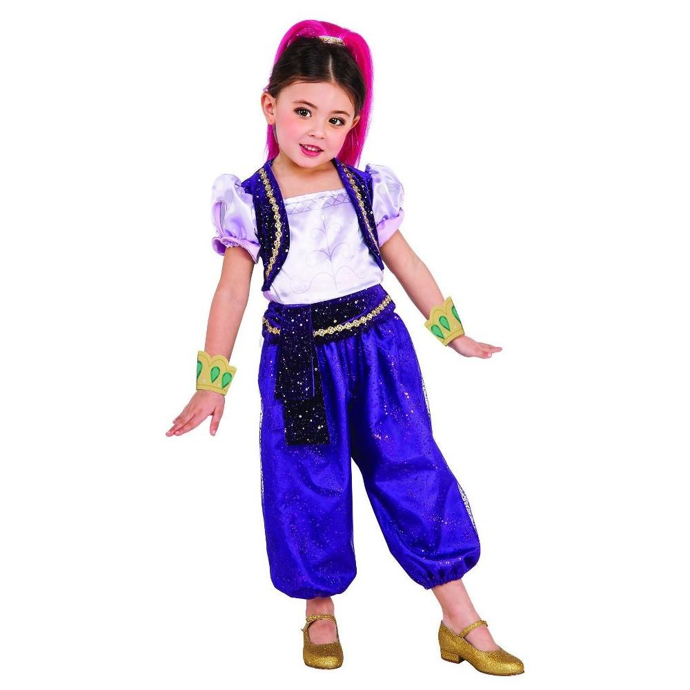 Toddler Shimmer and Shine Shimmer Costume - 3T-4T, Toddler Girls, Multicolored