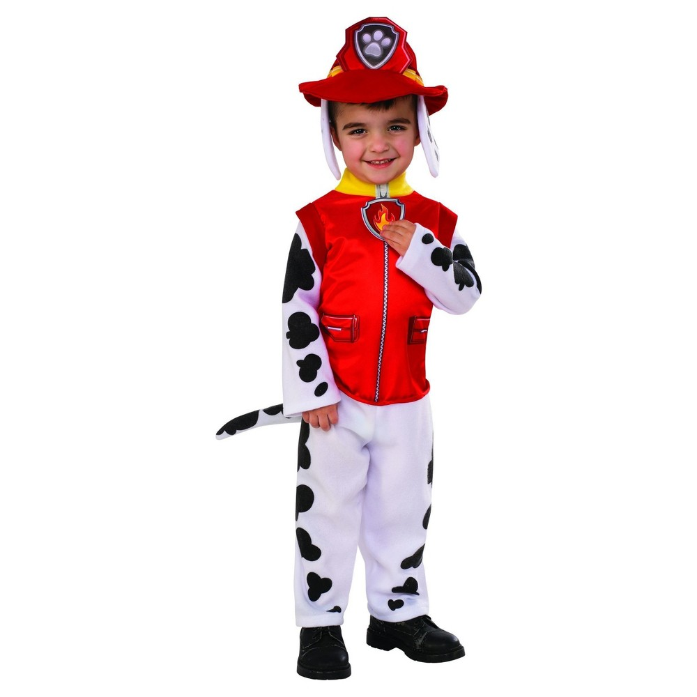 Toddler Paw Patrol Marshall Costume - 3T-4T, Toddler Boys, Multicolored