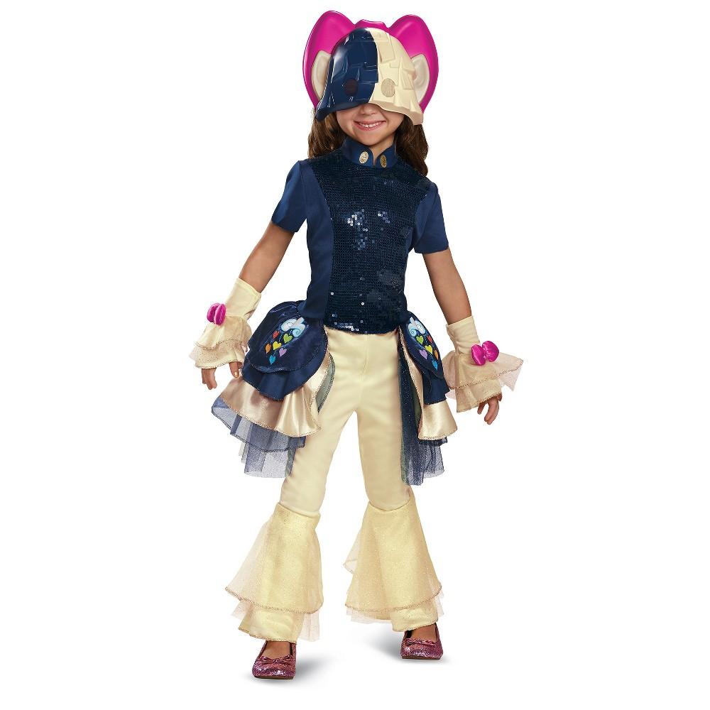 Girls My Little Pony Songbird Deluxe Costume - M (7-8), Multicolored