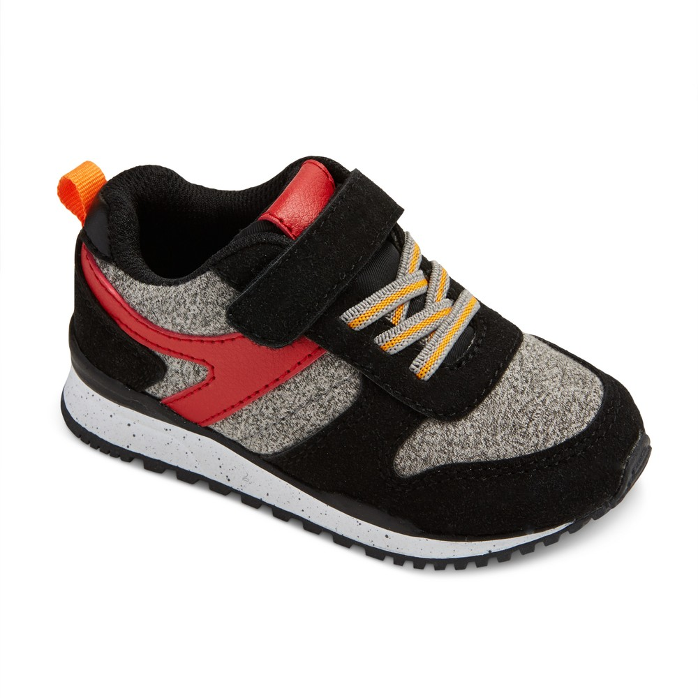 Toddler Boys Chase Jogger Sneakers Cat & Jack - Black 6