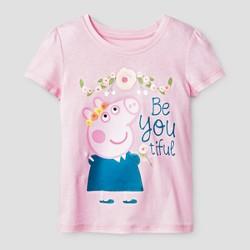 Toddler Girls' Peppa Pig BeYOUtiful T-Shirt - Pink