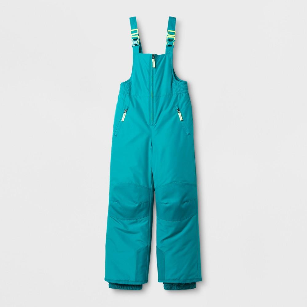 Girls Snow Bib Outerwear - C9 Champion Blue S