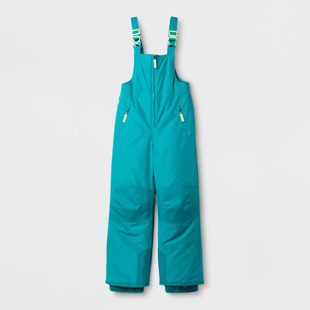 Girls Snow Bib Outerwear - C9 Champion Blue M