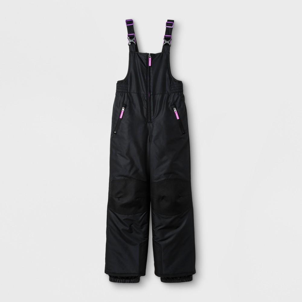 Girls Snow Bib Outerwear - C9 Champion Black XL