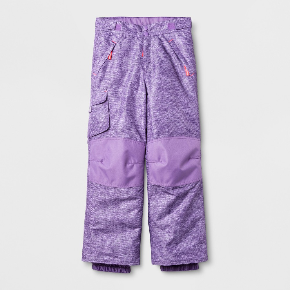 Girls Snow Pants - C9 Champion Purple XL