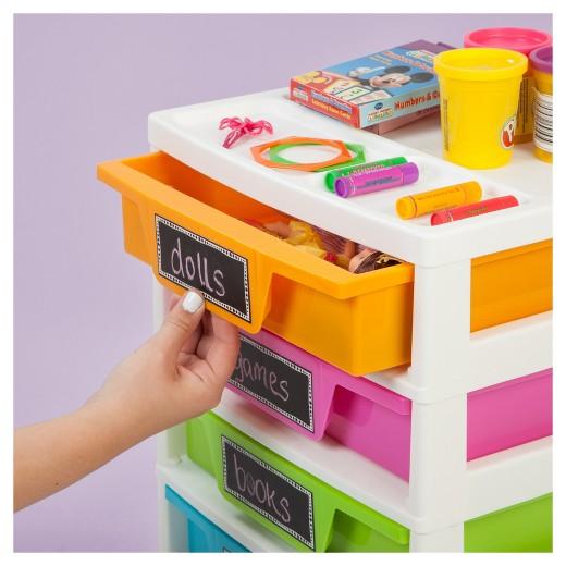Plastic Storage Drawers Target iris 5 drawer plastic storage drawers : target
