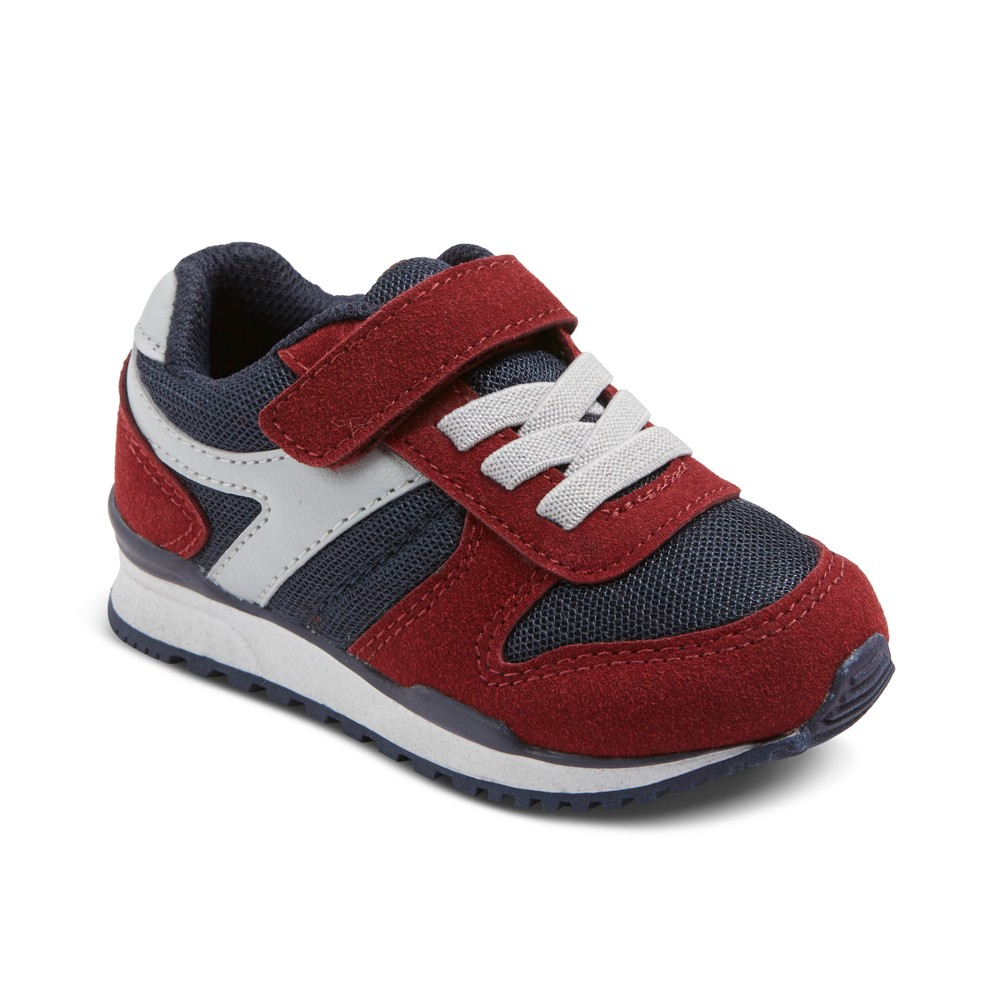 Toddler Boys Chase Jogger Sneakers Cat & Jack - Red 5