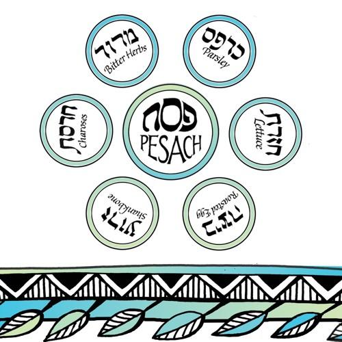 16ct Passover Napkins, Disposable Napkins