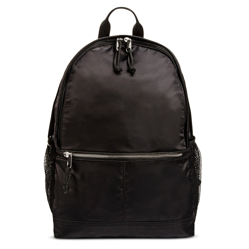 Womens Nylon Backpack Handbag - Mossimo Supply Co. Black
