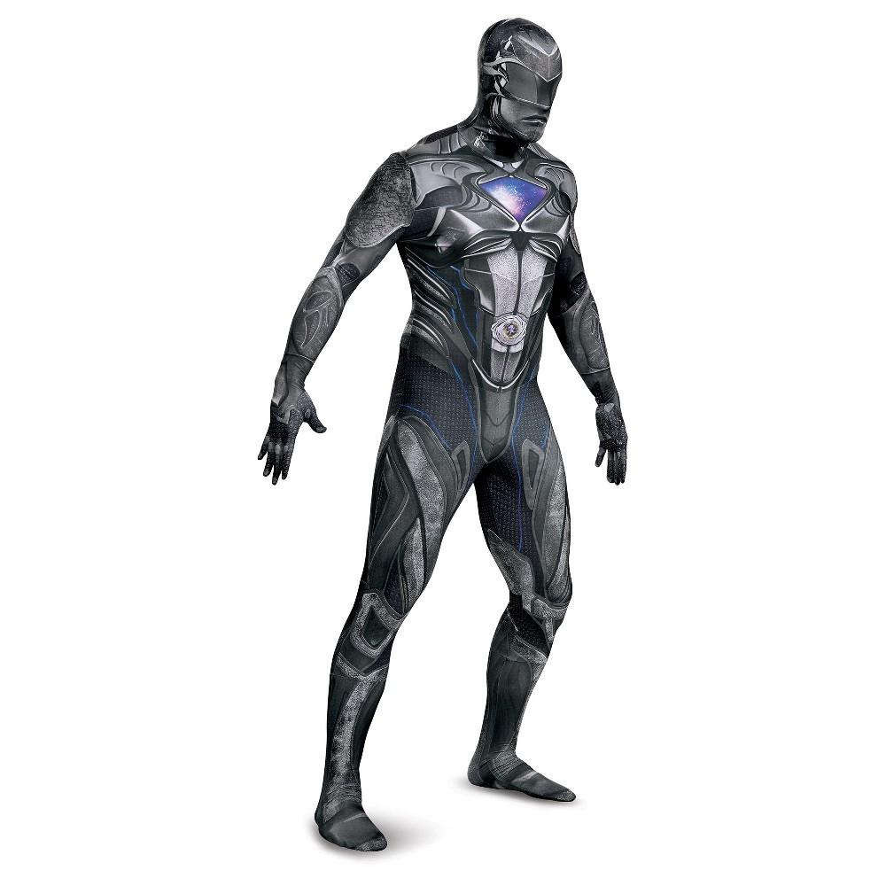 Mens Power Rangers Black Ranger Costume - XL
