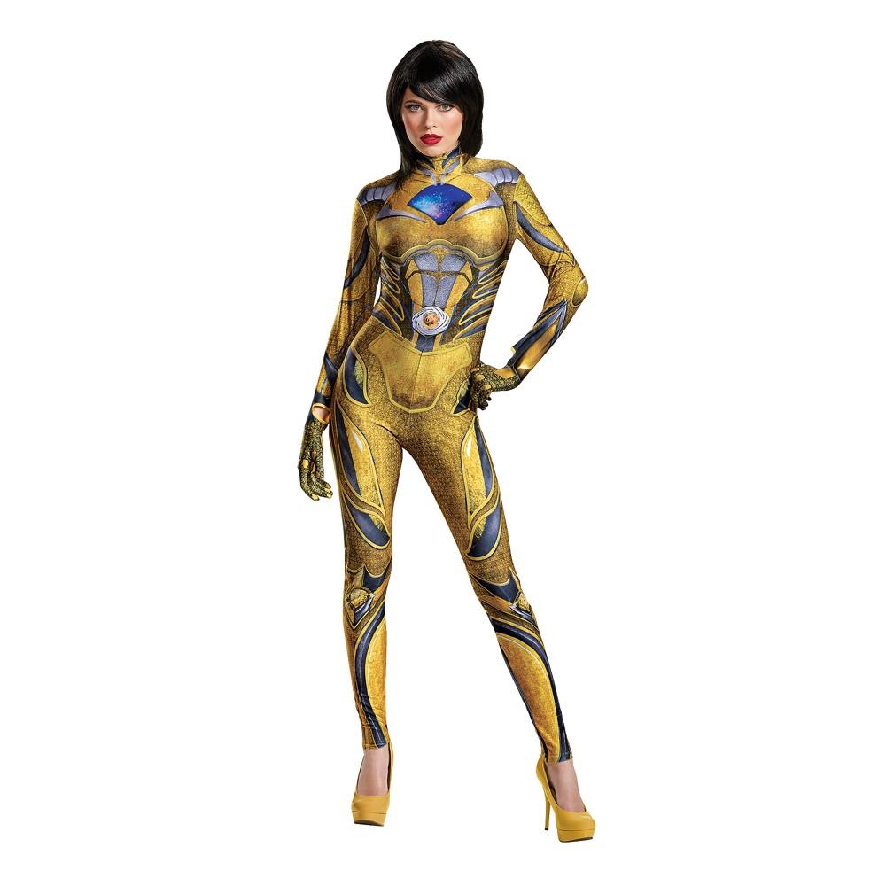Womens Power Rangers Yellow Ranger Costume - S