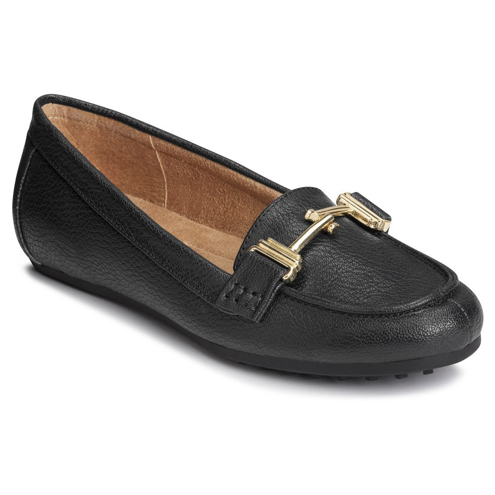 Womens A2 by Aerosoles Test Drive Loafers - Black 7.5