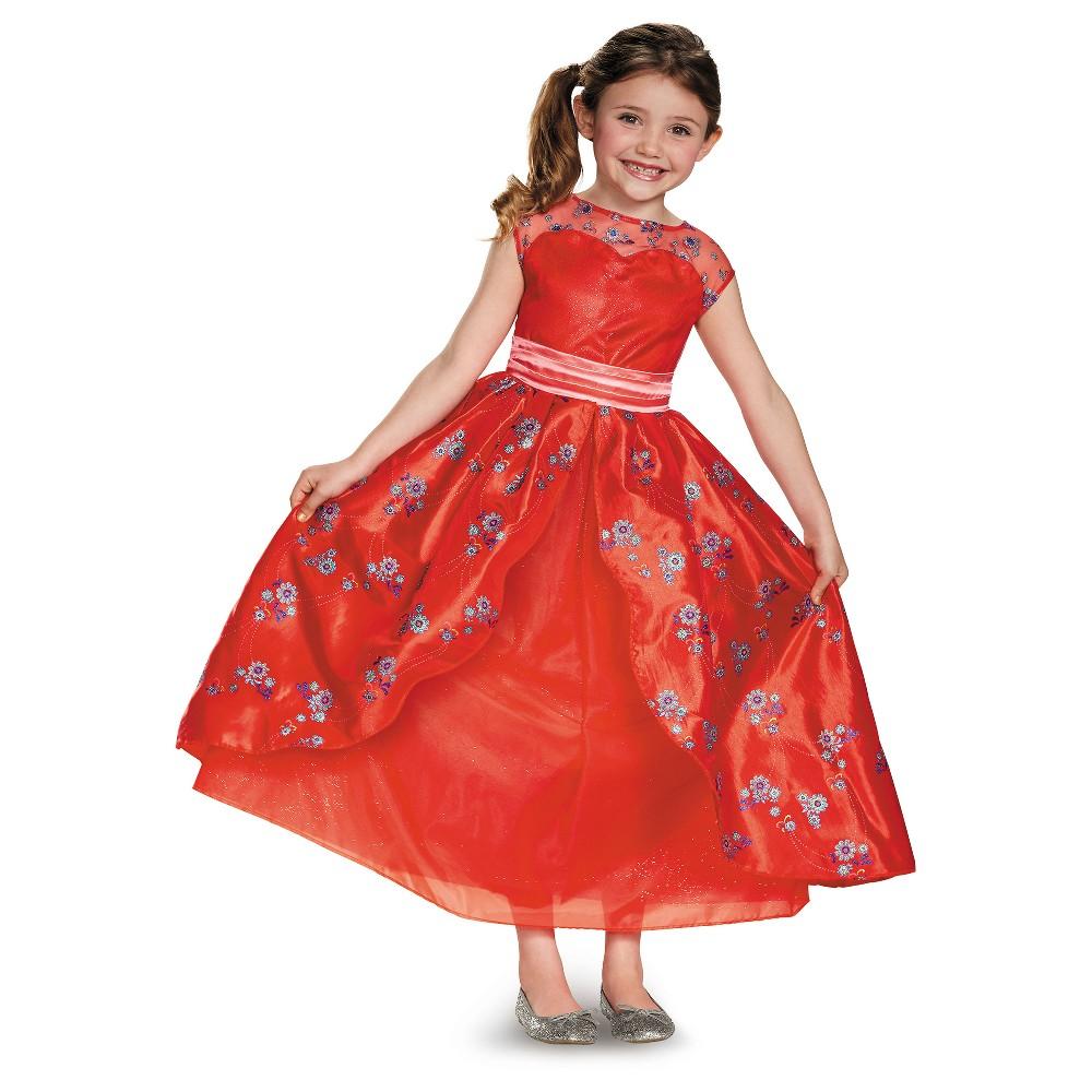 Girls Disney Princess Elena Deluxe Costume - XS (4-6), Multicolored