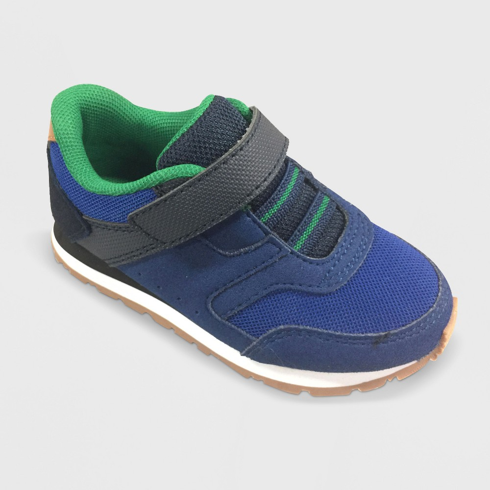 Toddler Boys Owen Jogger Sneakers Cat & Jack - Blue 12
