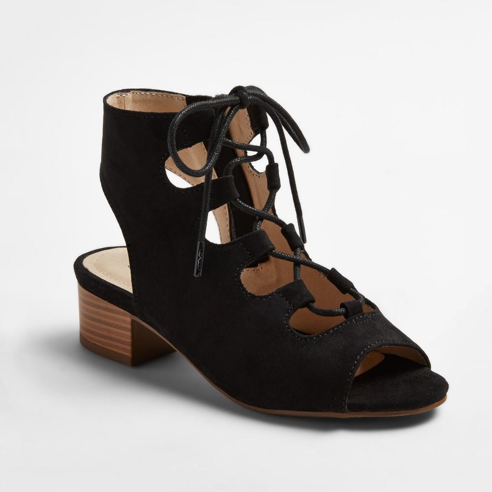 Girls Stevies #ohmy Heeled Gladiator Sandals - Black 1