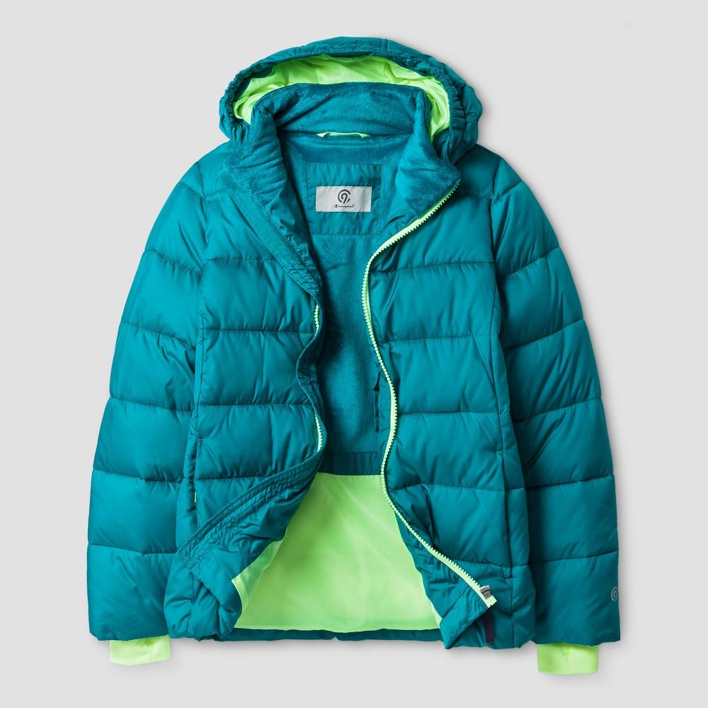 Girls' Puffer Jacket - C9 Champion Blue XL