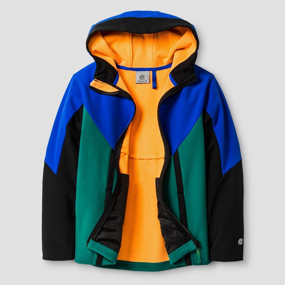 Boys Softshell Fleece Jacket - C9 Champion Dark Blue/Black XL
