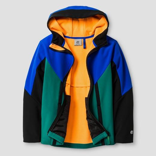 Boys' Soft Shell Fleece Jacket - C9 Champion® Blue : Target