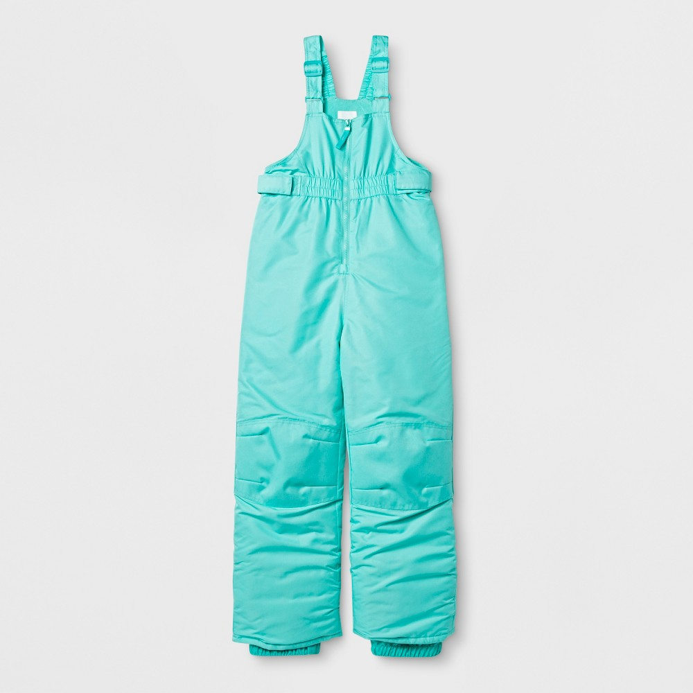 Girls Snow Bib Outerwear - Cat & Jack Blue M