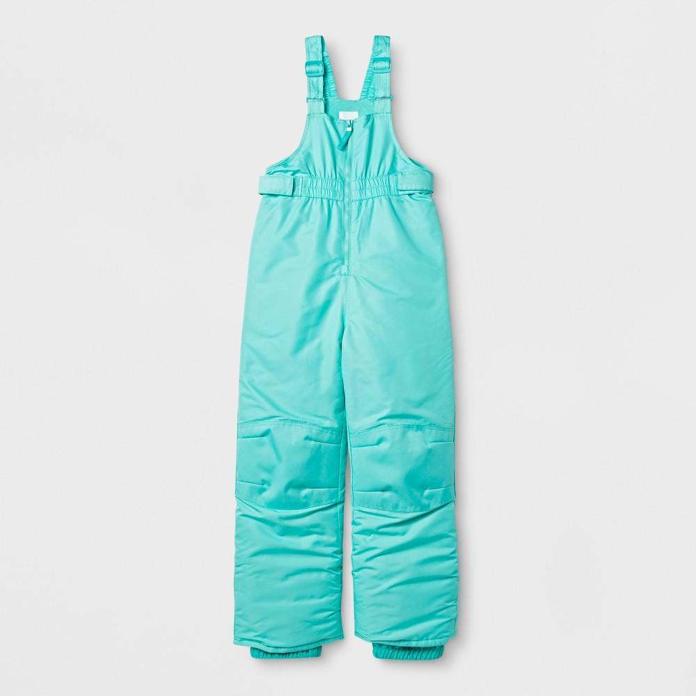 Girls Snow Bib Outerwear - Cat & Jack Blue XS