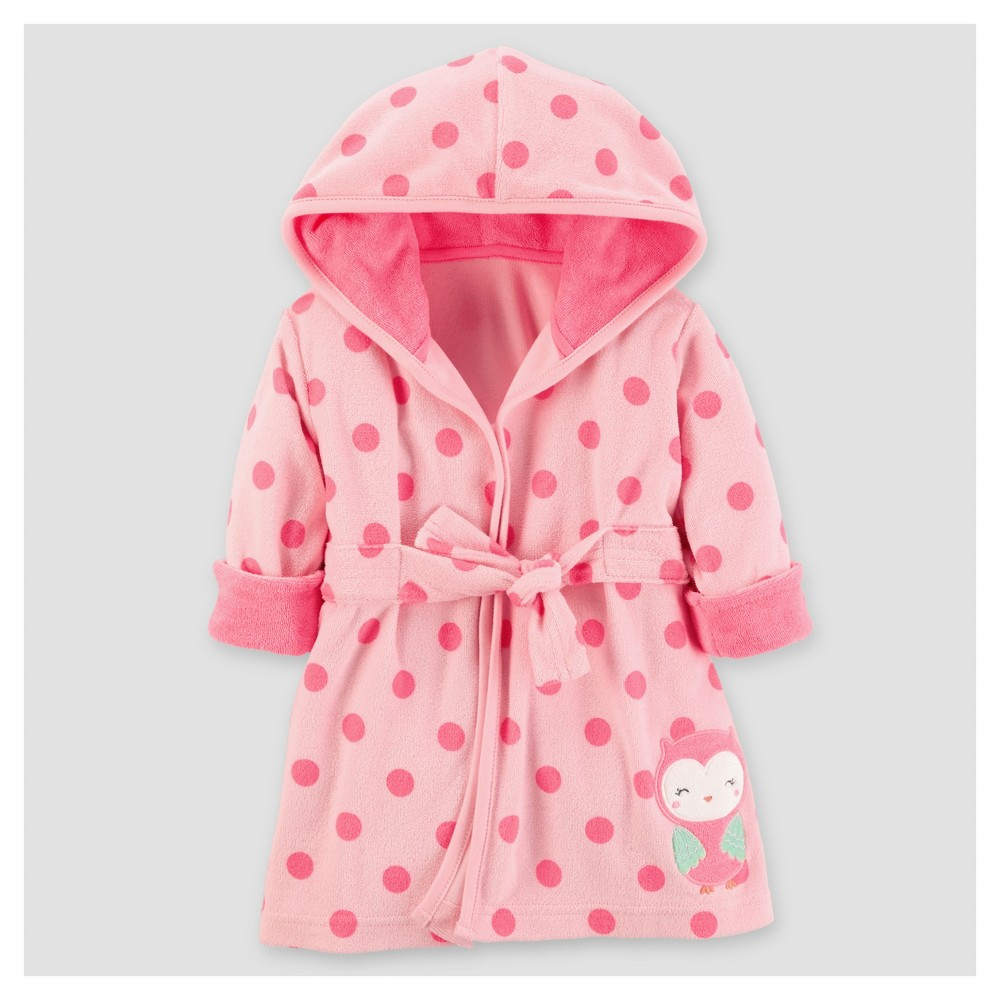 Baby Girls Owl Robe - Just One You Made by Carters Pink