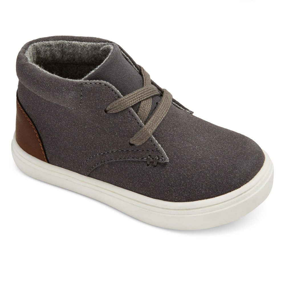 Toddler Boys Heaton Casual Chukka Boots Cat & Jack - Gray 11