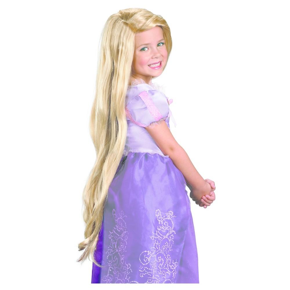 Girls Disney Princess Rapunzel Wig