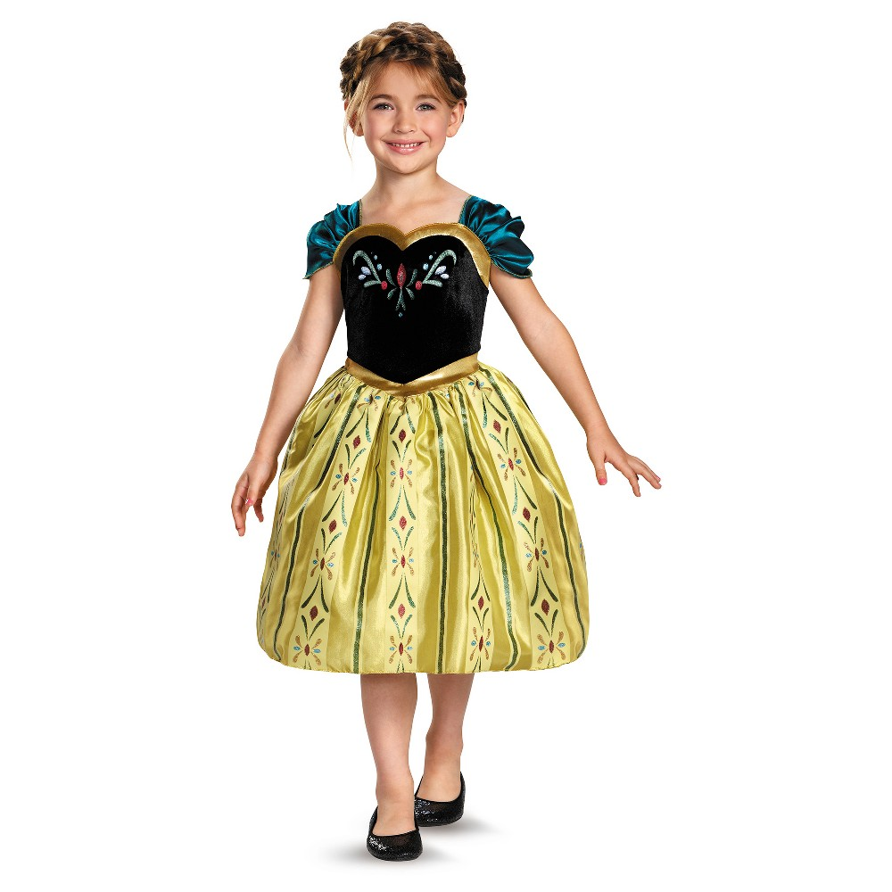 Girls Disney Frozen Anna Classic Costume - M (7-8), Multicolored