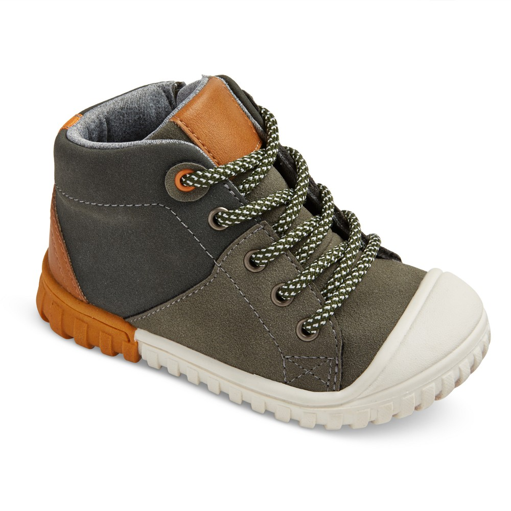 Toddler Boys Chase Mitch Hiking Boots Cat & Jack - Gray 12
