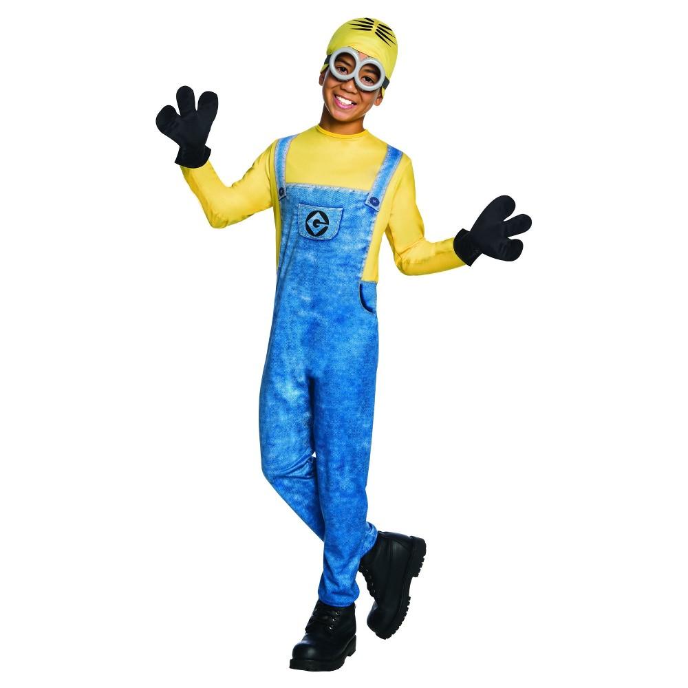 Boys Despicable Me Minion Dave Deluxe Costume - M (7-8), Multicolored