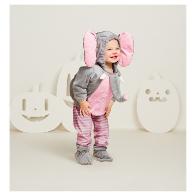 Baby Plush Elephant Vest Costume - 12-18 Months - Hyde and Eek! Boutique™