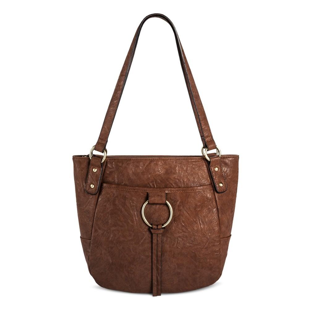 Womens Bueno Tote Handbag - Tan