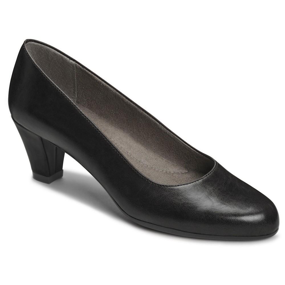 Womens A2 by Aerosoles Redwood2 Wide Width Pumps - Black 10.5W, Size: 10.5 Wide