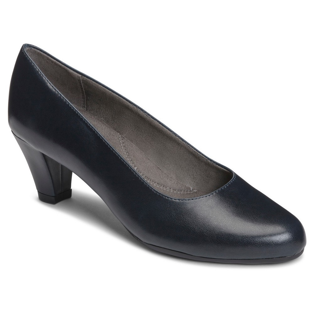 Womens A2 by Aerosoles Redwood2 Pumps - Navy (Blue) 8.5