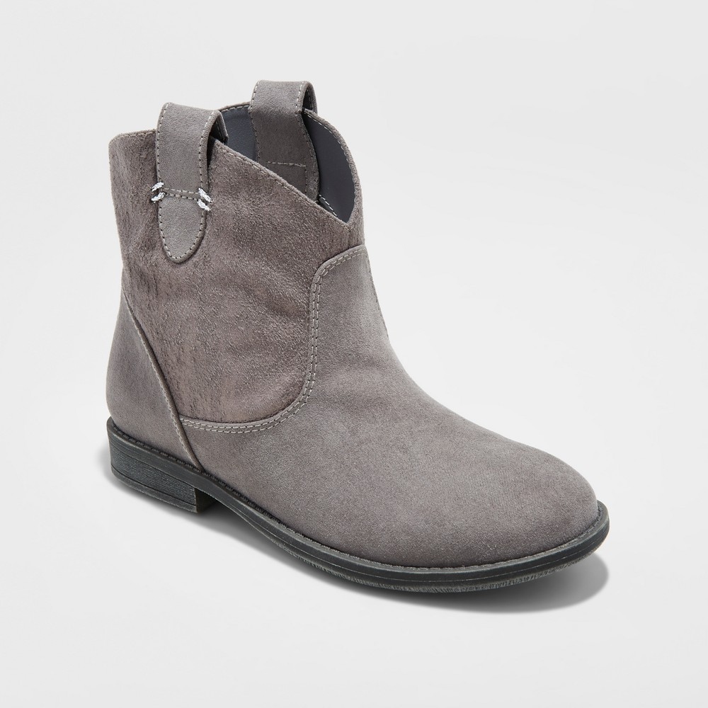 Girls Sadie Ankle Fashion boots Cat & Jack - Gray 6