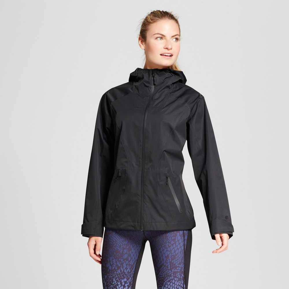 Womens Waterproof Breathable Rain Jacket - C9 Champion Black XL