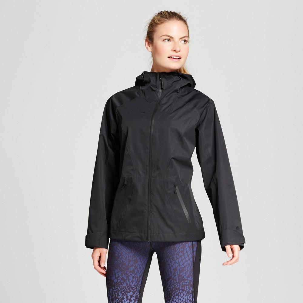 Womens Waterproof Breathable Rain Jacket - C9 Champion Black Xxl