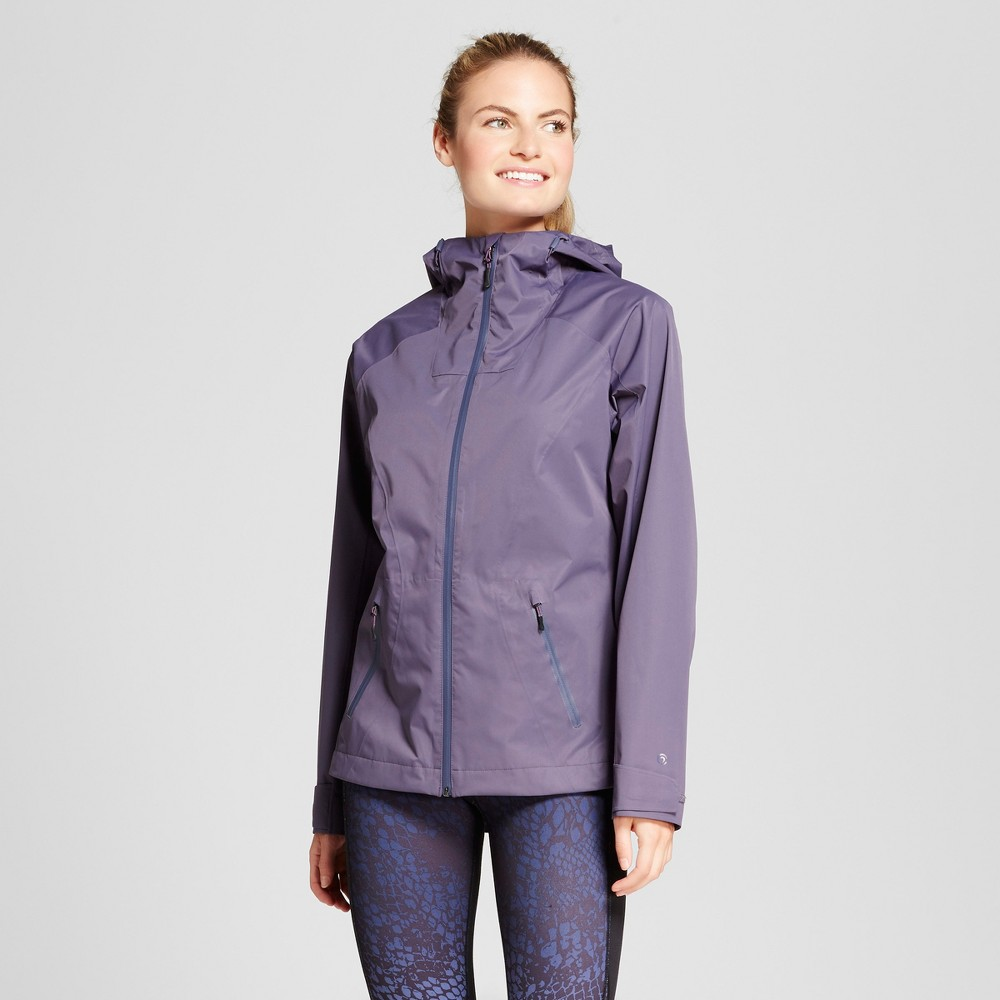 Womens Waterproof Breathable Rain Jacket - C9 Champion Gray S