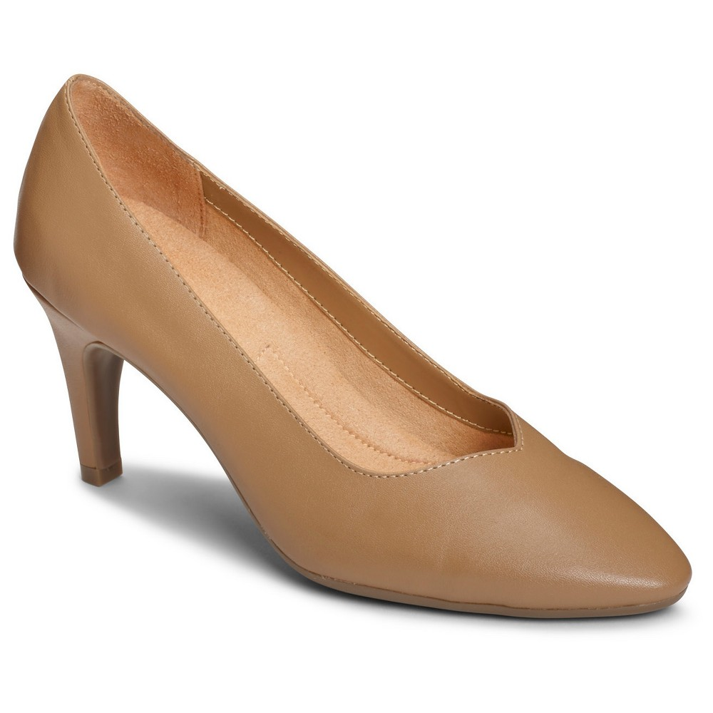 Womens A2 by Aerosoles Expert Pumps - Nude 8.5