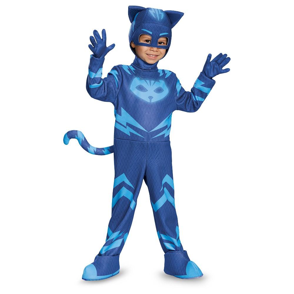 Toddler PJ Masks Catboy Deluxe Costume - 3T-4T, Toddler Boys, Blue