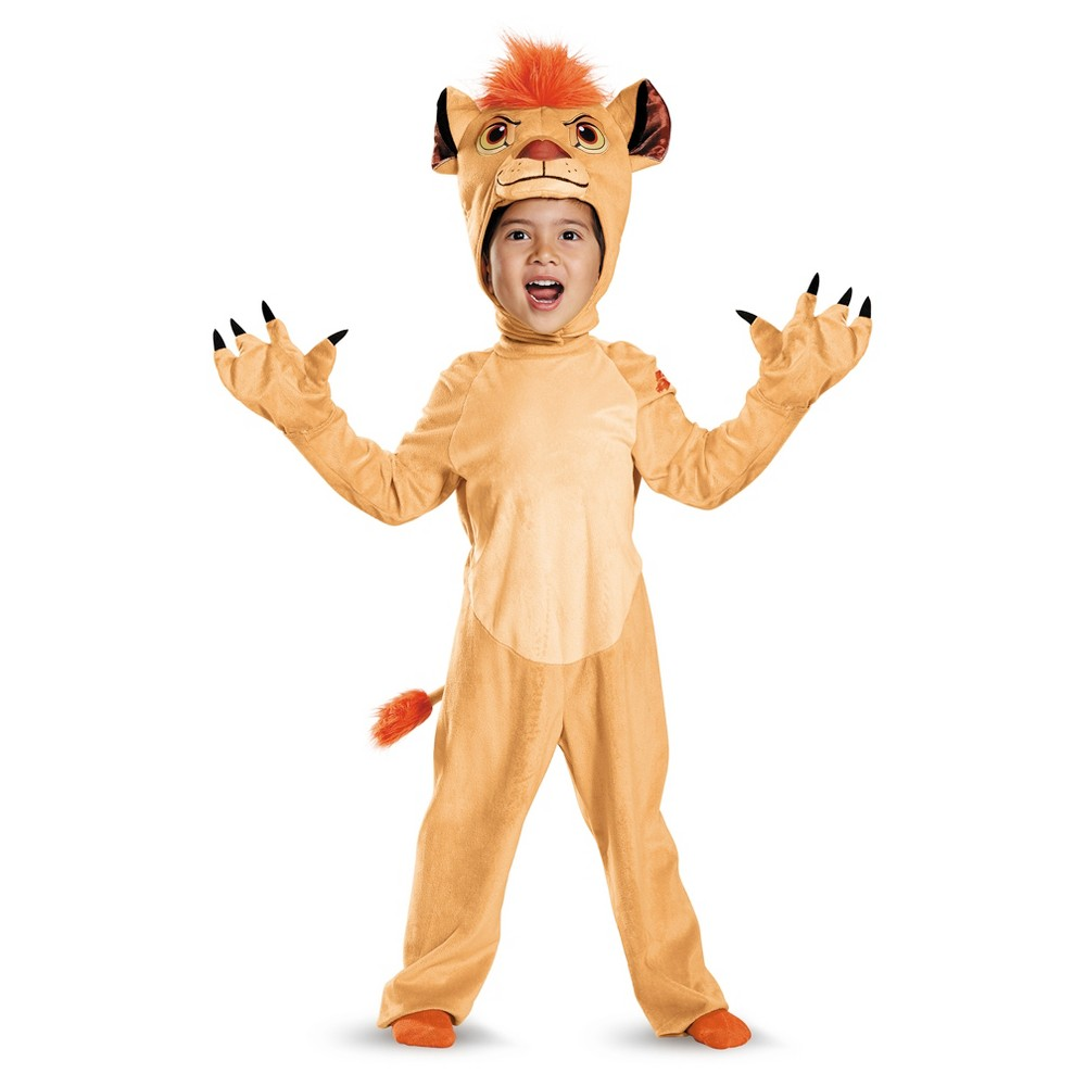 Toddler The Lion Guard Kion Costume - 2T, Toddler Boys, Multicolored