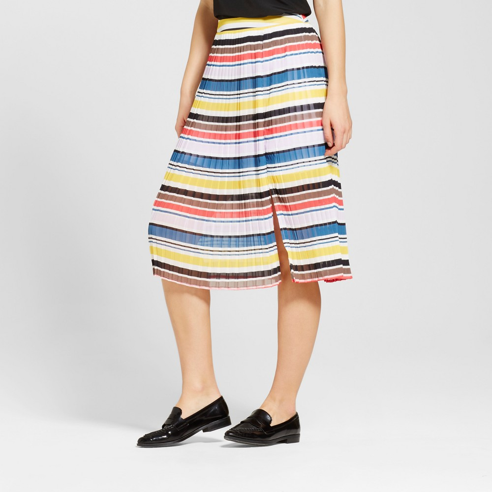 A Line Skirts WD.NY Black Multicolor Rainbow XL, Women's, Multicolored