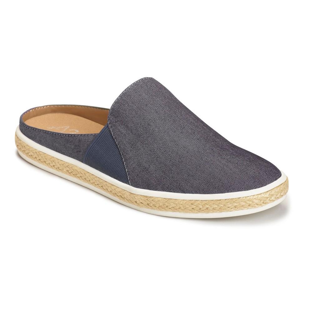 Womens A2 by Aerosoles Have Fun Loafers - Denim Blue 8