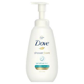 Dove Sensitive Skin Sulfate-Free Shower Foam Body Wash - 13.5 fl oz