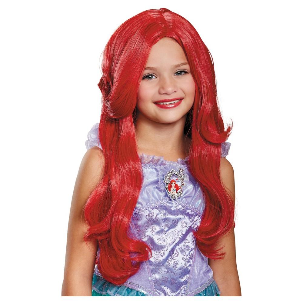 Girls Disney Princess Ariel Wig