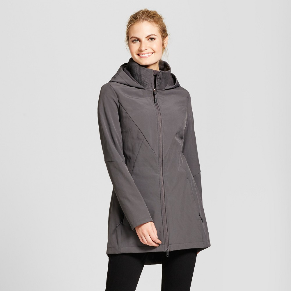 Womens Softshell Jacket - C9 Champion Gray XS